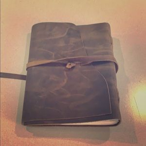 New leather bound journal!